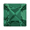 Swarovski 4428 Xilion Square Fancy Stone 8mm Emerald (144 Pieces)