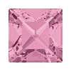 Swarovski 4428 Xilion Square Fancy Stone 3mm Light Rose (1,440 Pieces)