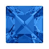 Swarovski 4428 Xilion Square Fancy Stone 8mm Sapphire (144 Pieces)