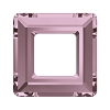 Swarovski 4439 Square Ring Fancy Stone 14mm Crystal Antique Pink (72 Pieces)