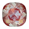 Swarovski 4470 Cushion Cut Square Fancy Stone 10mm Crystal Royal Red DeLite