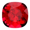 Swarovski 4470 Cushion Cut Square Fancy Stone 10mm Scarlet