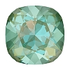 Swarovski 4470 Cushion Cut Square Fancy Stone 10mm Crystal Silky Sage DeLite