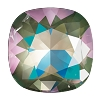 Swarovski 4470 Cushion Cut Square Fancy Stone 10mm Crystal Army Green DeLite