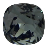 Swarovski 4470 Cushion Cut Square Fancy Stone 10mm Black Diamond