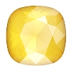 Swarovski 4470 Cushion Cut Square Fancy Stone 10mm Crystal Buttercup