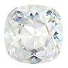 Swarovski 4470 Cushion Cut Square Fancy Stone 10mm Crystal