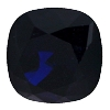 Swarovski 4470 Cushion Cut Square Fancy Stone 10mm Dark Indigo
