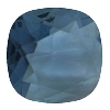 Swarovski 4470 Cushion Cut Square Fancy Stone 10mm Denim Blue Unfoiled