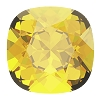 Swarovski 4470 Cushion Cut Square Fancy Stone 10mm Light Topaz