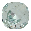 Swarovski 4470 Cushion Cut Square Fancy Stone 10mm Light Azore