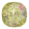 Swarovski 4470 Cushion Cut Square Fancy Stone 12mm Crystal Luminous Green  (72 Pieces)