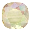 Swarovski 4470 Cushion Cut Square Fancy Stone 12mm Crystal Luminous Green Unfoiled
