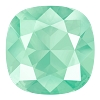 Swarovski 4470 Cushion Cut Square Fancy Stone 10mm Crystal Mint Green