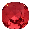 Swarovski 4470 Cushion Cut Square Fancy Stone 10mm Padparadscha