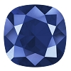 Swarovski 4470 Cushion Cut Square Fancy Stone 10mm Crystal Royal Blue