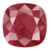 Swarovski 4470 Cushion Cut Square Fancy Stone 10mm Crystal Royal Red