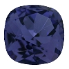Swarovski 4470 Cushion Cut Square Fancy Stone 10mm Tanzanite