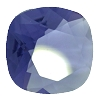 Swarovski 4470 Cushion Cut Square Fancy Stone 12mm Tanzanite Unfoiled