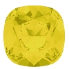 Swarovski 4470 Cushion Cut Square Fancy Stone 10mm Yellow Opal