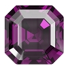 Swarovski 4480 Imperial Fancy Stone 10mm Amethyst (96 Pieces)