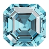 Swarovski 4480 Imperial Fancy Stone 10mm Aqua (96 Pieces)