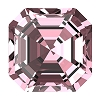 Swarovski 4480 Imperial Fancy Stone 8mm Light Rose (144 Pieces)