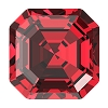 Swarovski 4480 Imperial Fancy Stone 8mm Scarlet (144 Pieces)