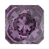 Swarovski 4499 Kaleidoscope Square Fancy Stone 10mm Amethyst (48 Pieces)