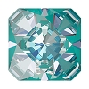 Swarovski 4499 Kaleidoscope Square Fancy Stone 6mm Crystal Laguna DeLite (144 Pieces)