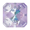 Swarovski 4499 Kaleidoscope Square Fancy Stone 6mm Crystal Lavender DeLite (144 Pieces)