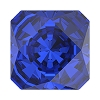Swarovski 4499 Kaleidoscope Square Fancy Stone 10mm Majestic Blue (48 Pieces)