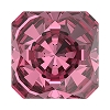 Swarovski 4499 Kaleidoscope Square Fancy Stone 10mm Rose (48 Pieces)