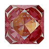 Swarovski 4499 Kaleidoscope Square Fancy Stone 6mm Crystal Royal Red DeLite (144 Pieces)