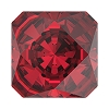 Swarovski 4499 Kaleidoscope Square Fancy Stone 10mm Scarlet (48 Pieces)