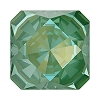 Swarovski 4499 Kaleidoscope Square Fancy Stone 6mm Crystal Silky Sage DeLite (144 Pieces)