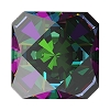 Swarovski 4499 Kaleidoscope Square Fancy Stone 6mm Crystal Vitrail Medium (144 Pieces)