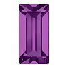 Swarovski 4501 Baguette Fancy Stone 7x3mm Amethyst (720 Pieces)