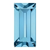 Swarovski 4501 Baguette Fancy Stone 4x2mm Aqua (720 Pieces)
