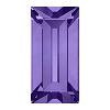 Swarovski 4501 Baguette Fancy Stone 4x2mm Tanzanite (720 Pieces)
