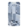 Swarovski 4524 Pure Baguette Fancy Stone 12x6mm Crystal Blue Shade (144 Pieces)