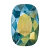 Swarovski 4568 Cushion Cut Rectangle Fancy Stone 14x10mm Crystal Iridescent Green (72 Pieces)