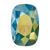 Swarovski 4568 Cushion Cut Rectangle Fancy Stone 14x10mm Crystal Iridescent Green Unfoiled (72 Pieces)