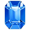 Swarovski 4600 Octagon Fancy Stone 6x4mm Capri Blue (360 Pieces)