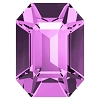 Swarovski 4600 Octagon Fancy Stone 6x4mm Light Amethyst (360 Pieces)