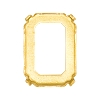 Swarovski 4600/S Octagon Fancy Stone Setting 6x4mm Unplated 4 Holes (360 Pieces)