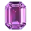 Swarovski 4610 Octagon Fancy Stone 14x10mm Amethyst (144 Pieces)