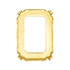 Swarovski 4610/S Octagon Fancy Stone Setting 14x10mm Unplated 4 Holes (144 Pieces)