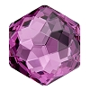 Swarovski 4683 Fantasy Hexagon Fancy Stone 10x11.2mm Amethyst (96 Pieces)