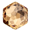 Swarovski 4683 Fantasy Hexagon Fancy Stone 10x11.2mm Light Colorado Topaz (96 Pieces)